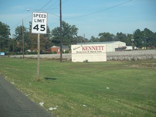 The lovely Kennett sign