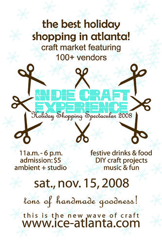 Indie Craft Experience Postcard