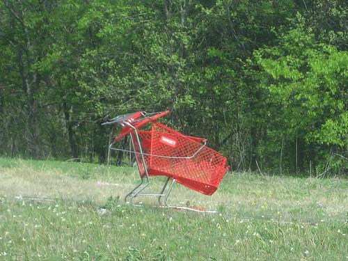 Target Cart hanging out