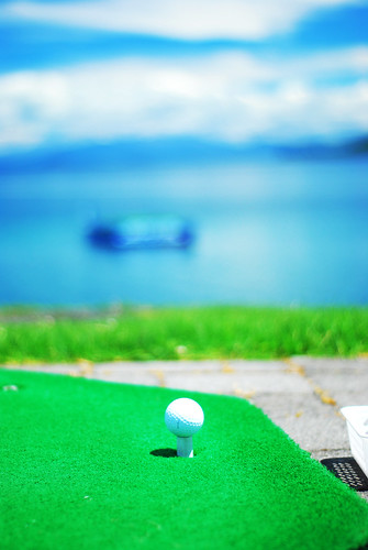 I always stop at the Taupo Hole in One challenge thingy...