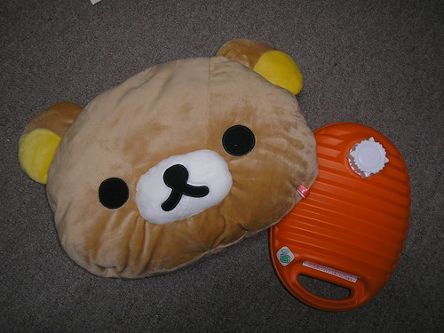 Rilakkuma Yutanpo (hot water bottle)