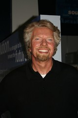 Richard Branson waxwork