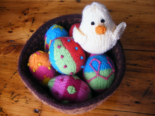 Easter Eggs, Basket and L'il Peep