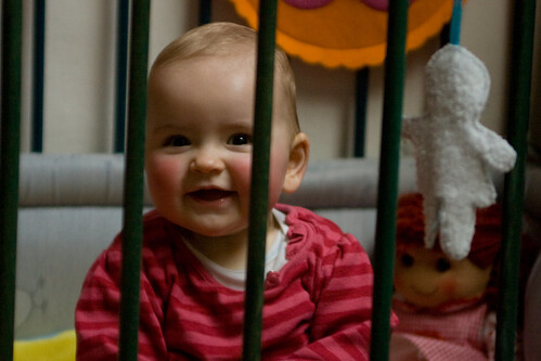 Leonie in jail