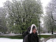 Paul in Ealing Common, April 6, 2008.
