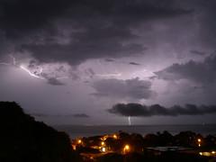 Lightning over the Bay of Trujillo