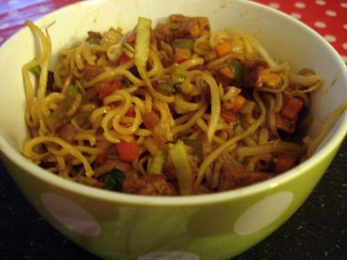 Easy dinertime noodles