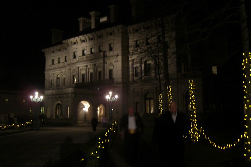 The Breakers at night