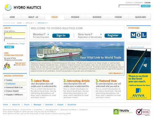 Hydro Nautics - Mixed Orange
