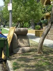 Sideways chair