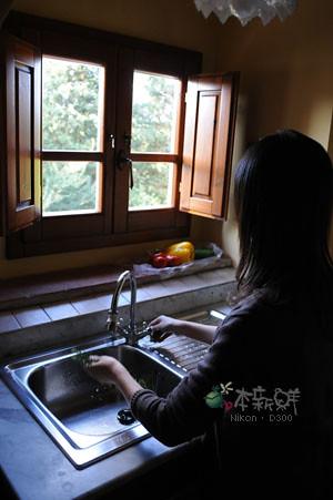 廚房一小角落