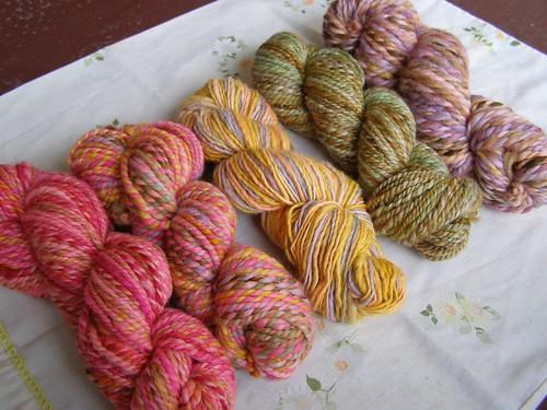 mixing yarns 3