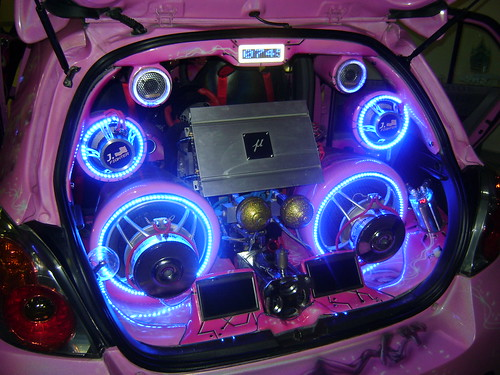 Cool audio system