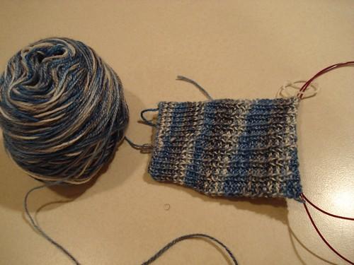 Porthole Rib Sock #1
