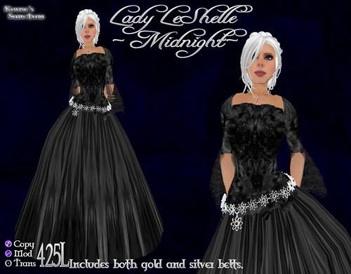 Lady LeShelle - Midnight - Ad