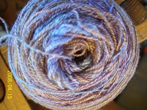 2ply lace weight - dusty cornflower - sakina needles