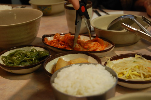Kimchi and Namul