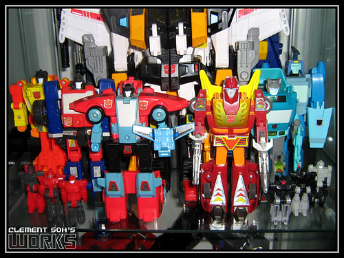 Transformers Autobot Targetmasters