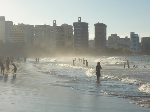The beach in Condado