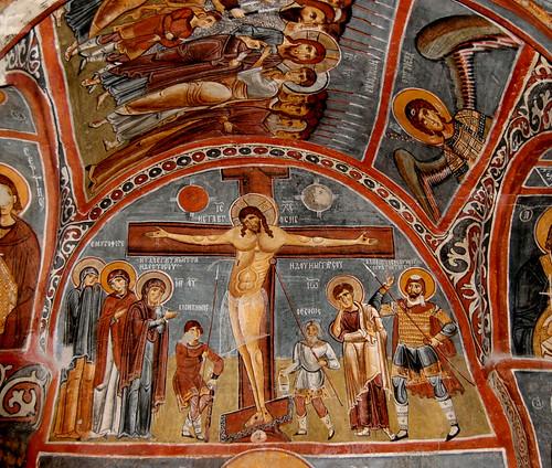 Crucifixtion Fresco