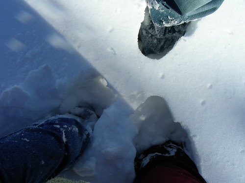 Snow Feet by you.