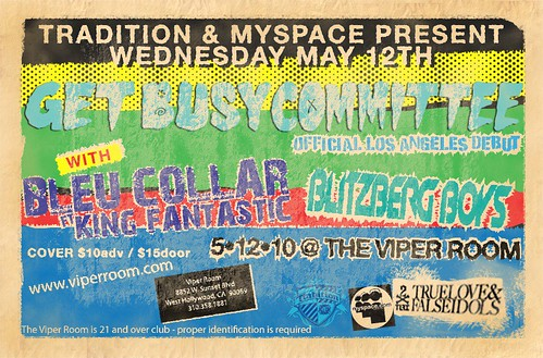 Get Busy Committee LIVE @ The Viper Room, Los Angeles