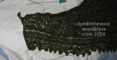 moss shawl nearly done