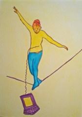 An unbalanced life....