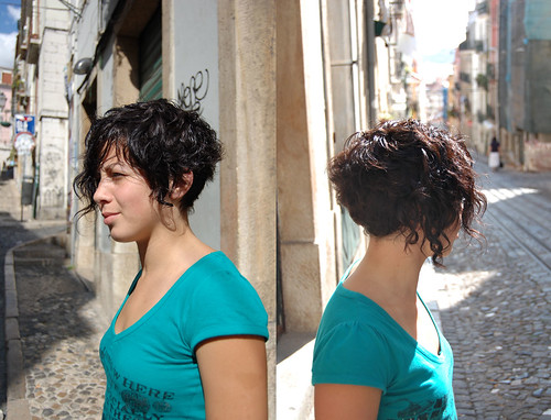 Street bob - haircut short curly bob (photo)