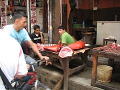 Carniceria tipica, Katmandú, Nepal