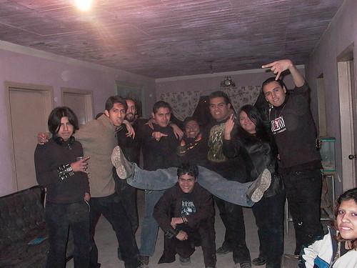De izq-der. Enrique(Malkav/Oso),E.T.,Alfredo(Huesos),Dani,Victor(medalken),Beto(Zubera),Victor(Godzi),Belem,Victor(Chato)