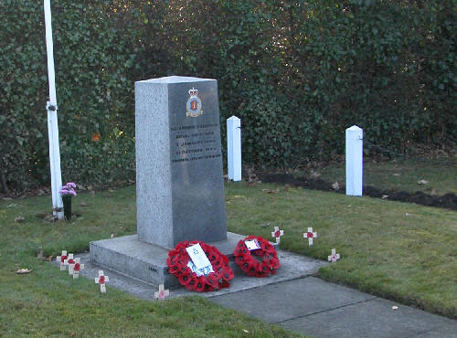 Wreaths on Remembrance Day