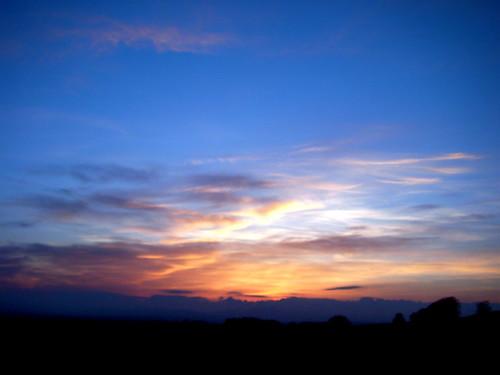 Blue Sky After Sunset