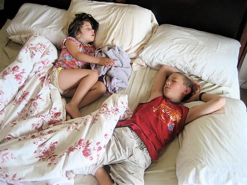 sleeping kids are so....quiet!