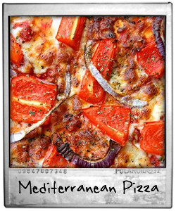 Mediterranean Homemade Pizza