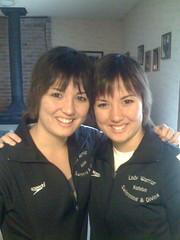 Katelyn and Kelsey