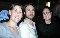 Me, Paul, Helen at Birthday dinner, 2008