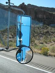 Arizona from the passengers seat