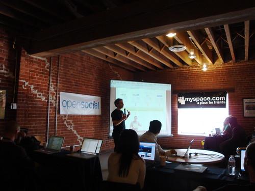 David Glazer of Google presenting
