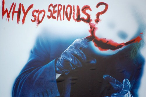 Why so serious? by laverrue