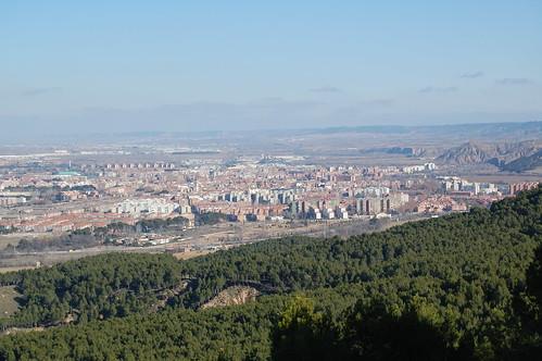 Alcalá de Henares desde el cerro del viso