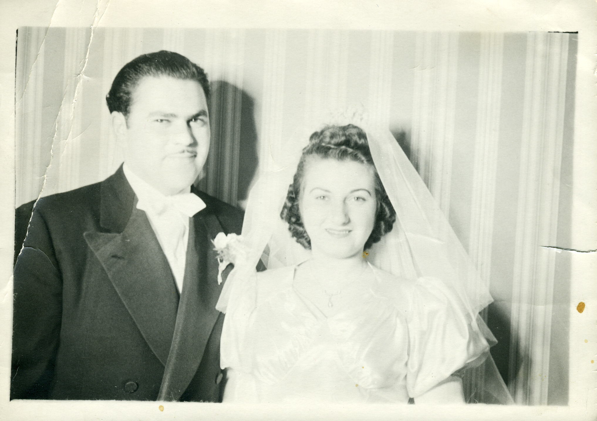 Arthur's son, Norman and his wife, Leona