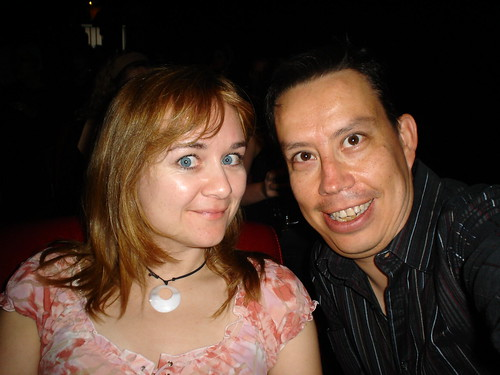 Dr. Beth & Dr. Raul at the Global Metal Preview