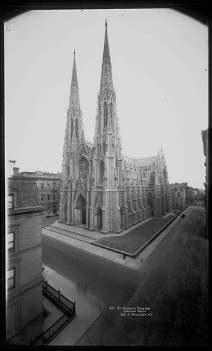 St Patricks Cathedral. via Flickr.com/Commons.