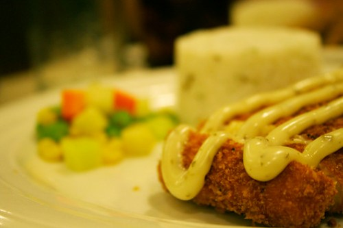 Cordon Bleu at Honeybear Chicken Haus