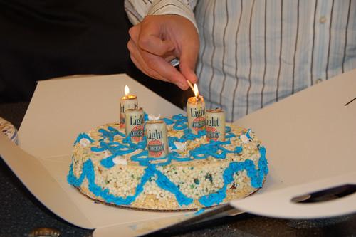 Dippin Dots Cake