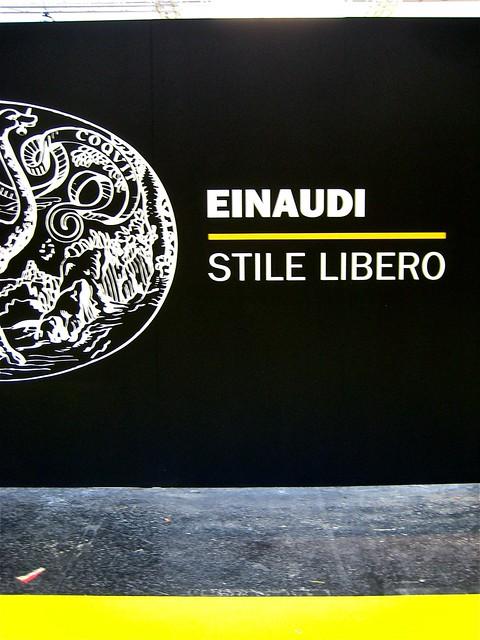 Salone del libro di Torino 2011, Einaudi, 1
