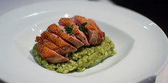 Poblano & Nopal Risotto with Duck Breast