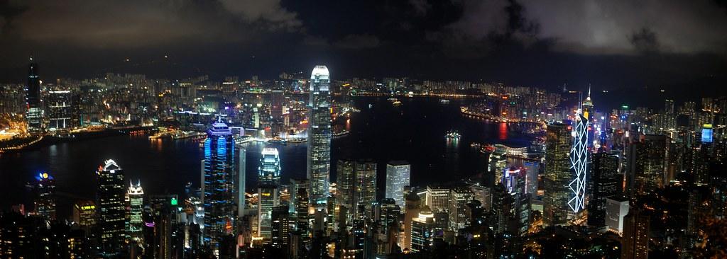 Hong Kong at Night by Michael McDonough, on Flickr