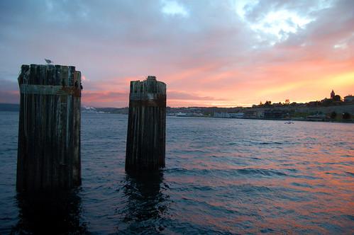 Sunset, Port Townsend, Olympic Peninsula